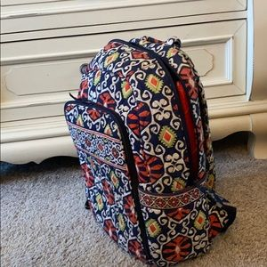 Backpack with laptop insert